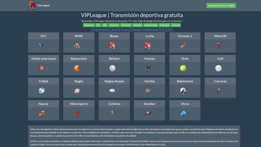 Top VIPLeague Alternatives [2019]